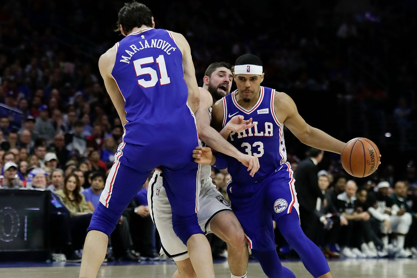 Sixers' talent trumps Nets' chemistry in Game 2 of their NBA playoff series