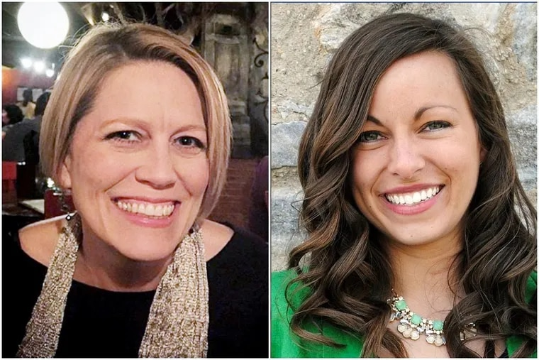 Police say Jennair Gerardot (left) shot and killed Meredith Chapman (right) before committing suicide.