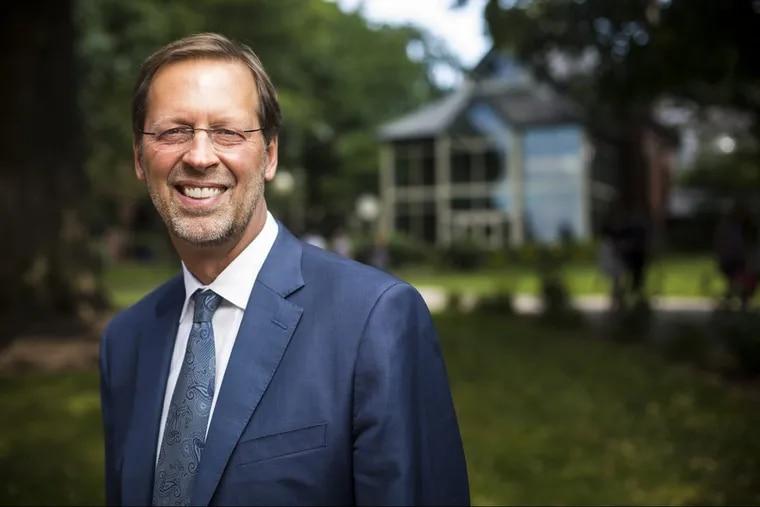Daniel R. Porterfield, president of Franklin & Marshall College