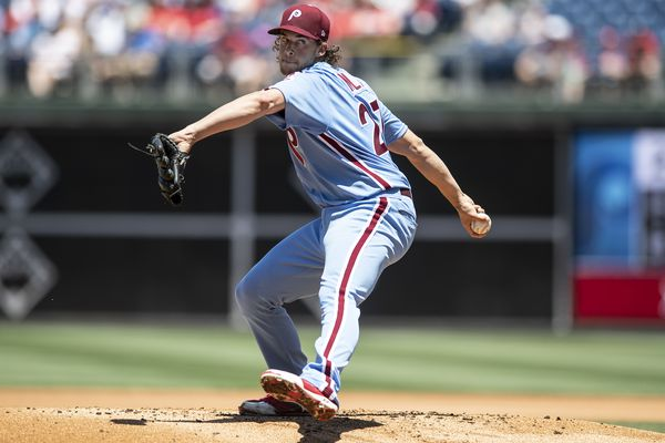 While much of the Phillies' pitching staff flounders, Aaron Nola is back to his 2018-level dominance