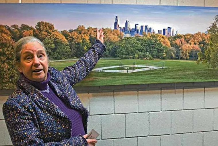 Pauline Jonas at a February 2014 show of the Photographic Society of Philadelphia at the Deptford Municipal Building.