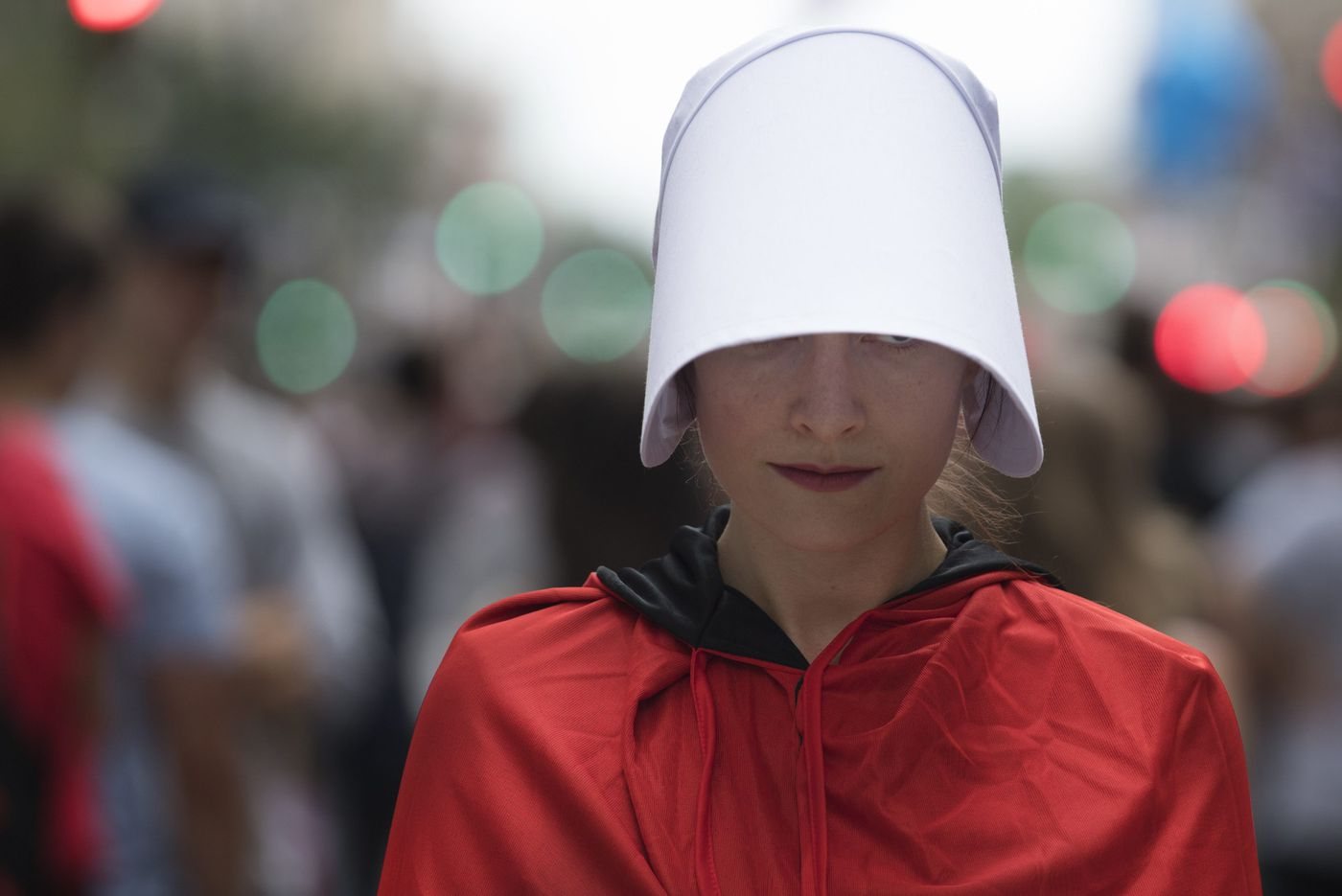Why I helped organize the 'Handmaids' protest of Mike Pence | Opinion