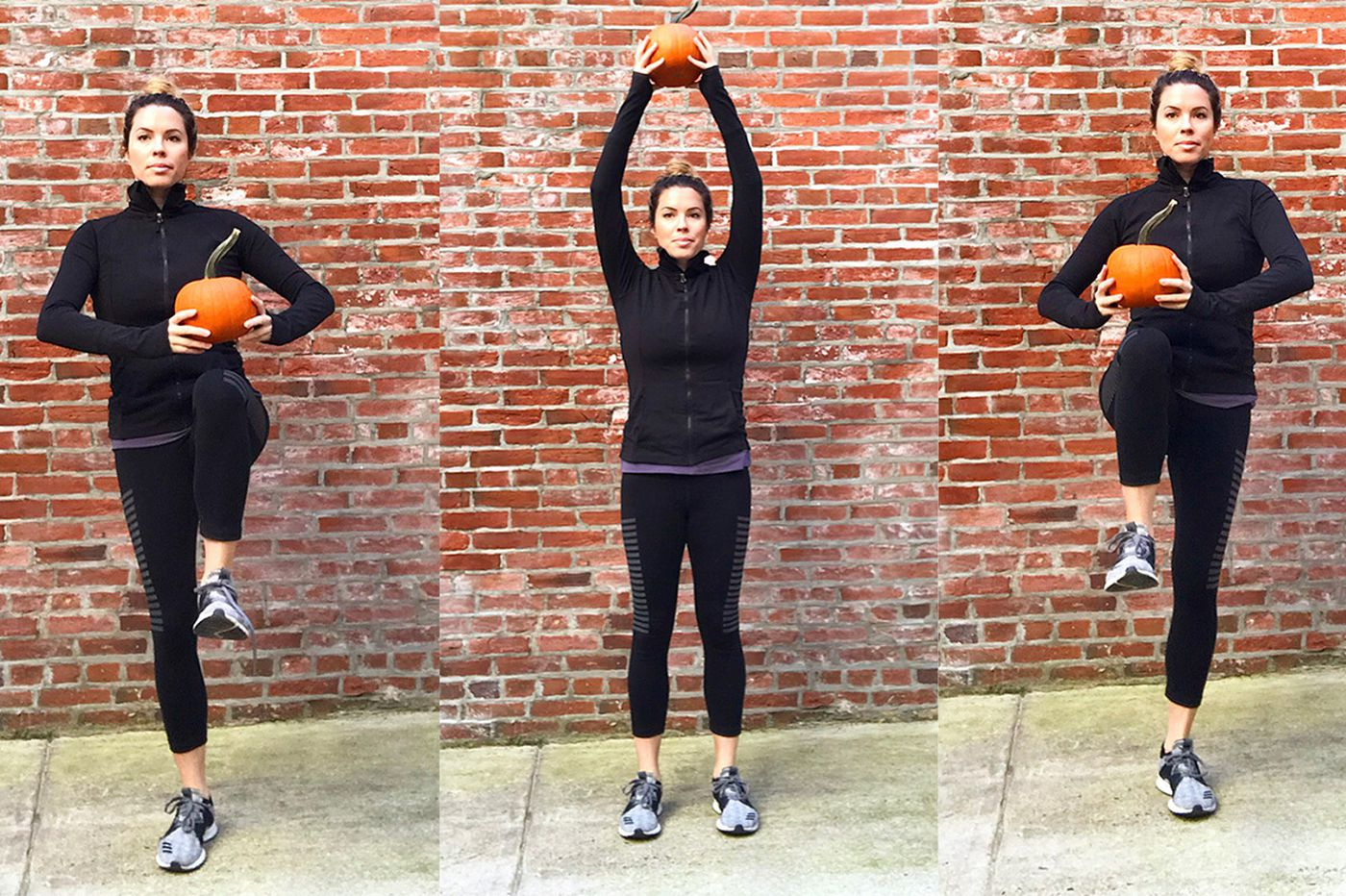 A Halloween-inspired full-body workout