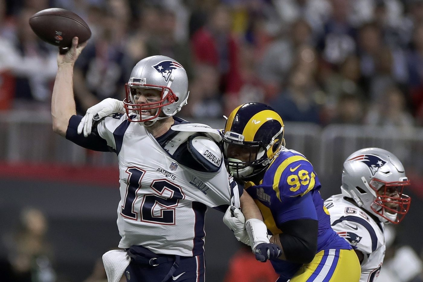 more photos 416b6 ecf66 It was far from Tom Brady's best, but the G.O.A.T. helped ...