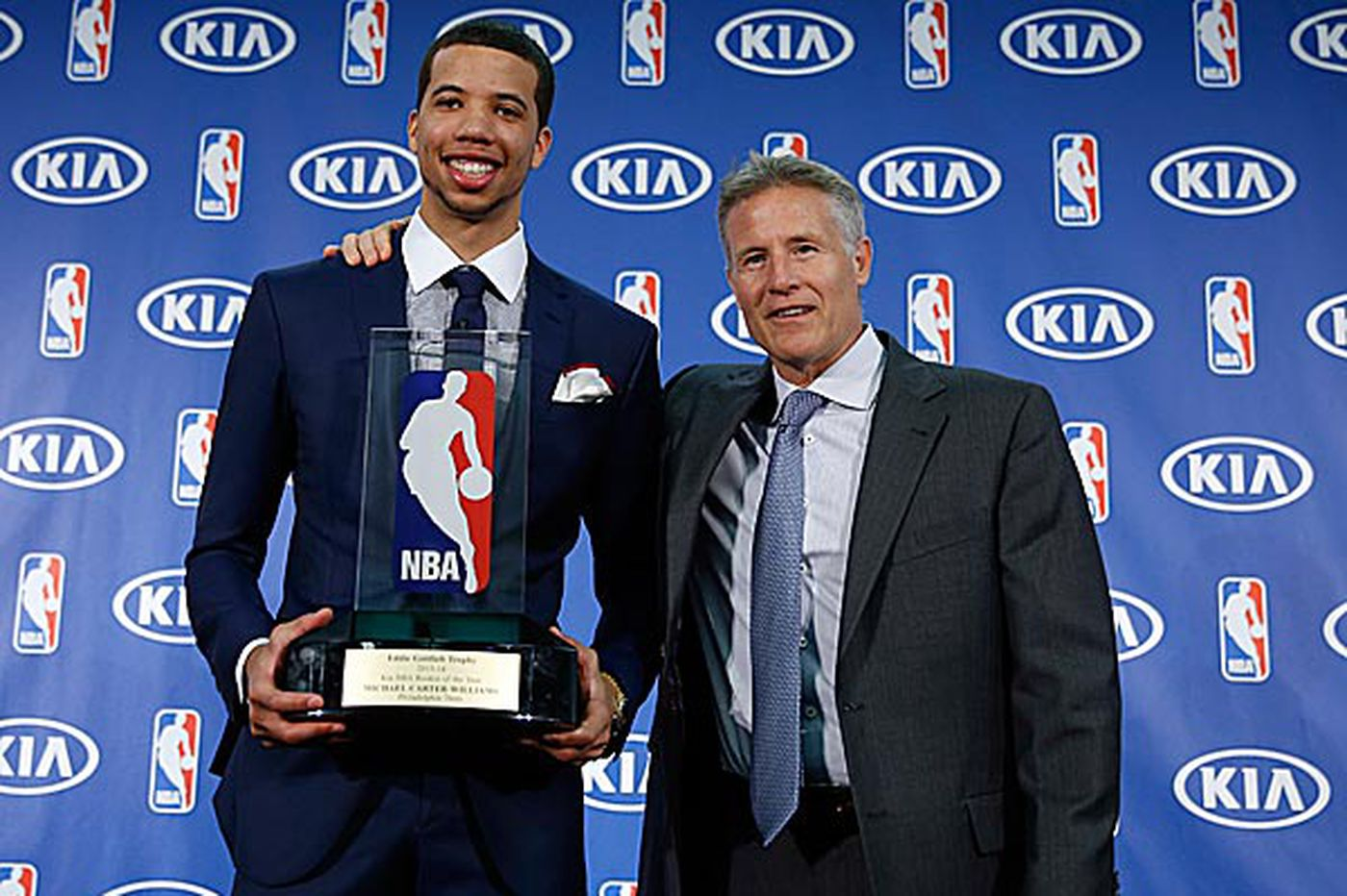 MCW's prize speaks well of Brown's success at the helm of Sixers