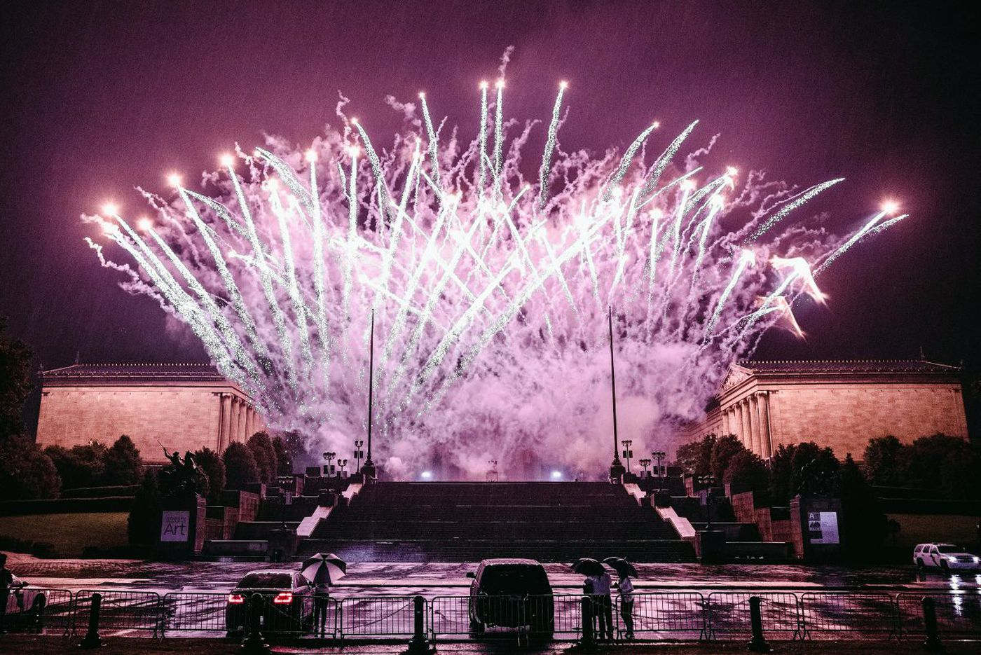 Where to see July 4th fireworks in the Philadelphia area