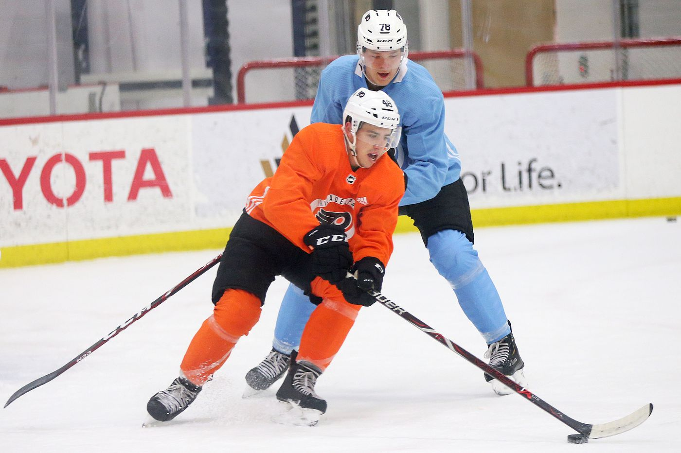 Morgan Frost, Isaac Ratcliffe, Joel Farabee: Kid Line could be Flyers' go-to unit in future