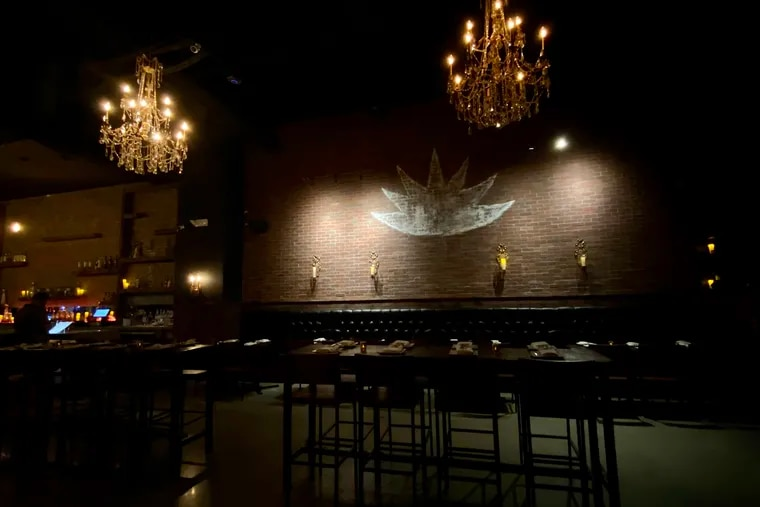 The dining room at Añejo Philly in Northern Liberties, in a preopening configuration. The restaurant opened in August with outdoor dining along Second Street.