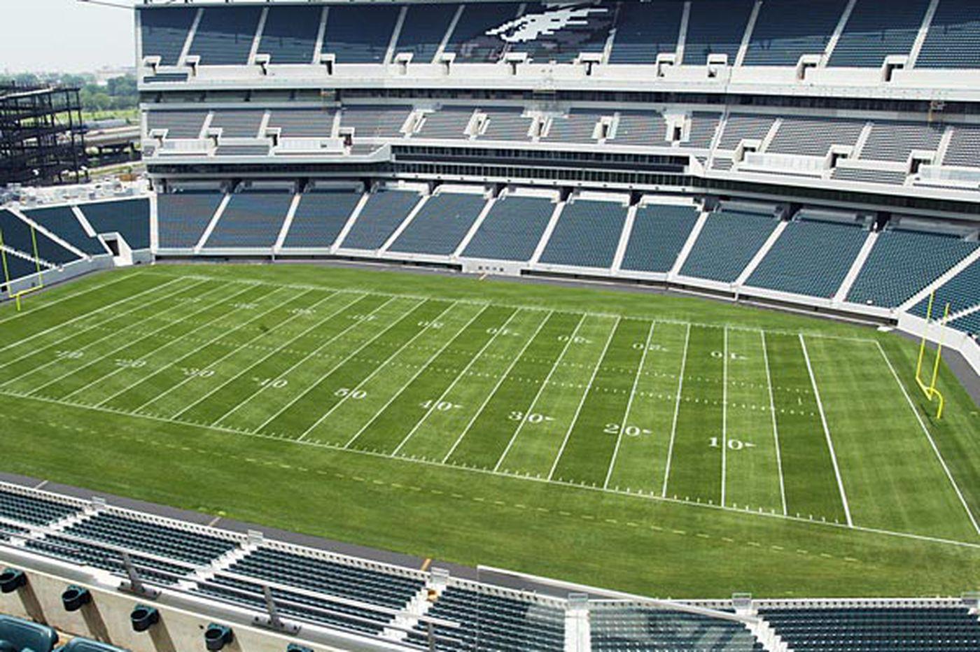 Eagles hope stadium renovations will help in Super Bowl bid