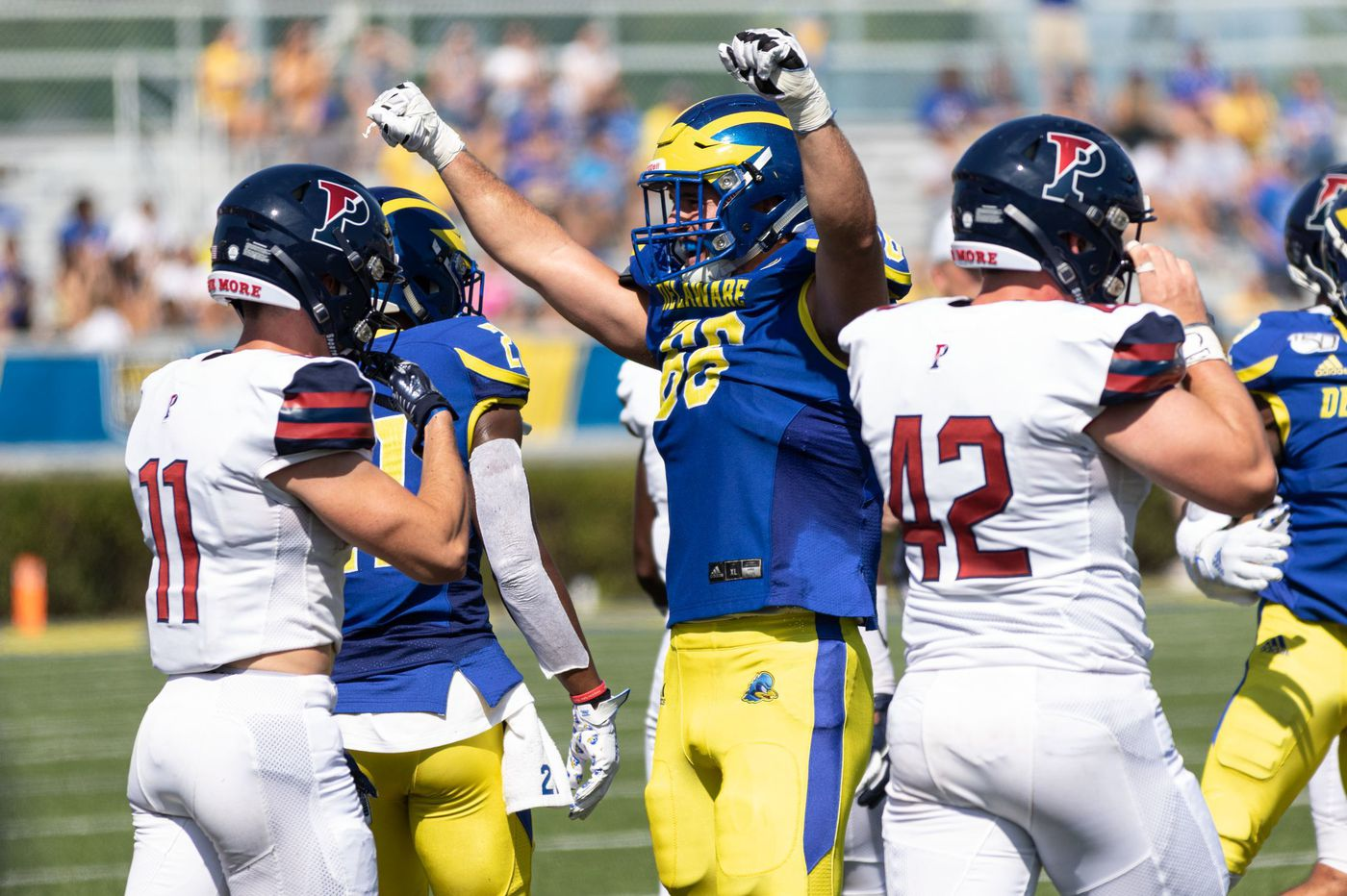 Penn's upset at Delaware falls short, 28-27, on failed two-point conversion