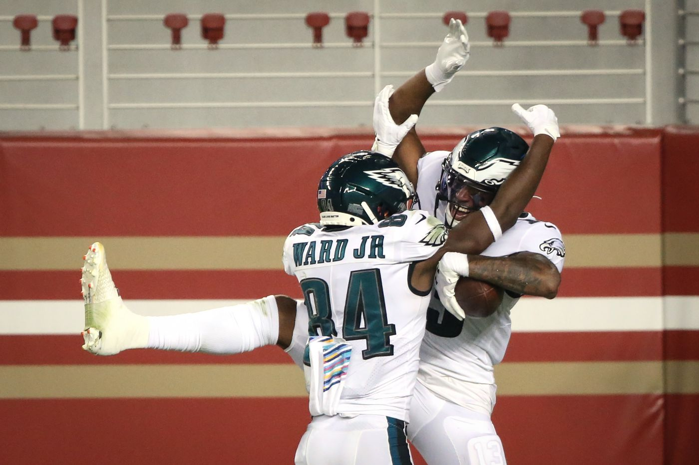 Five takeaways from the Eagles' come-from-behind win against the 49ers