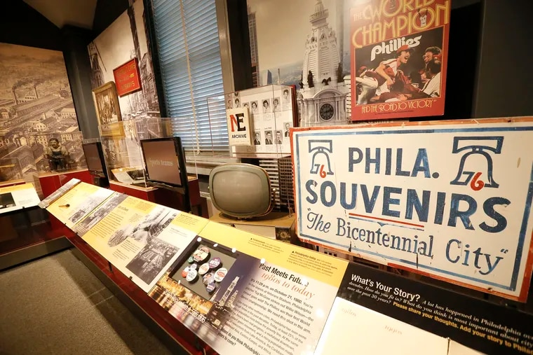 """""""City Stories,"""" an exhibit now on display at the the Philadelphia History Museum, which is closing to the public on July 2 for an undetermined amount of time."""
