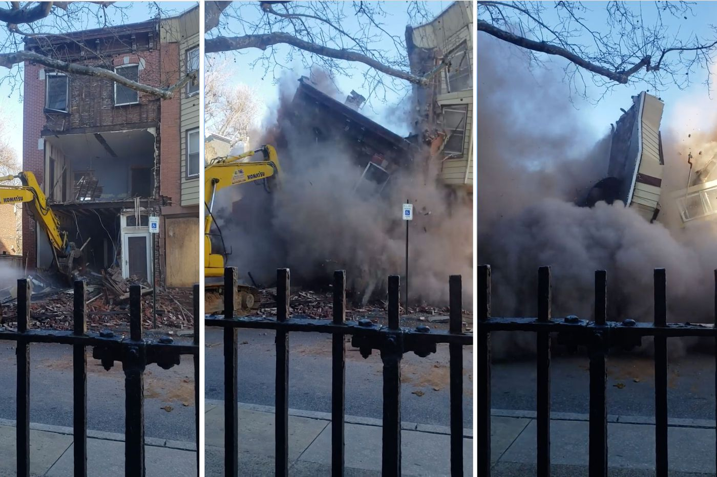 Two Fishtown properties collapse after Philly contractor worked without permits, L&I says