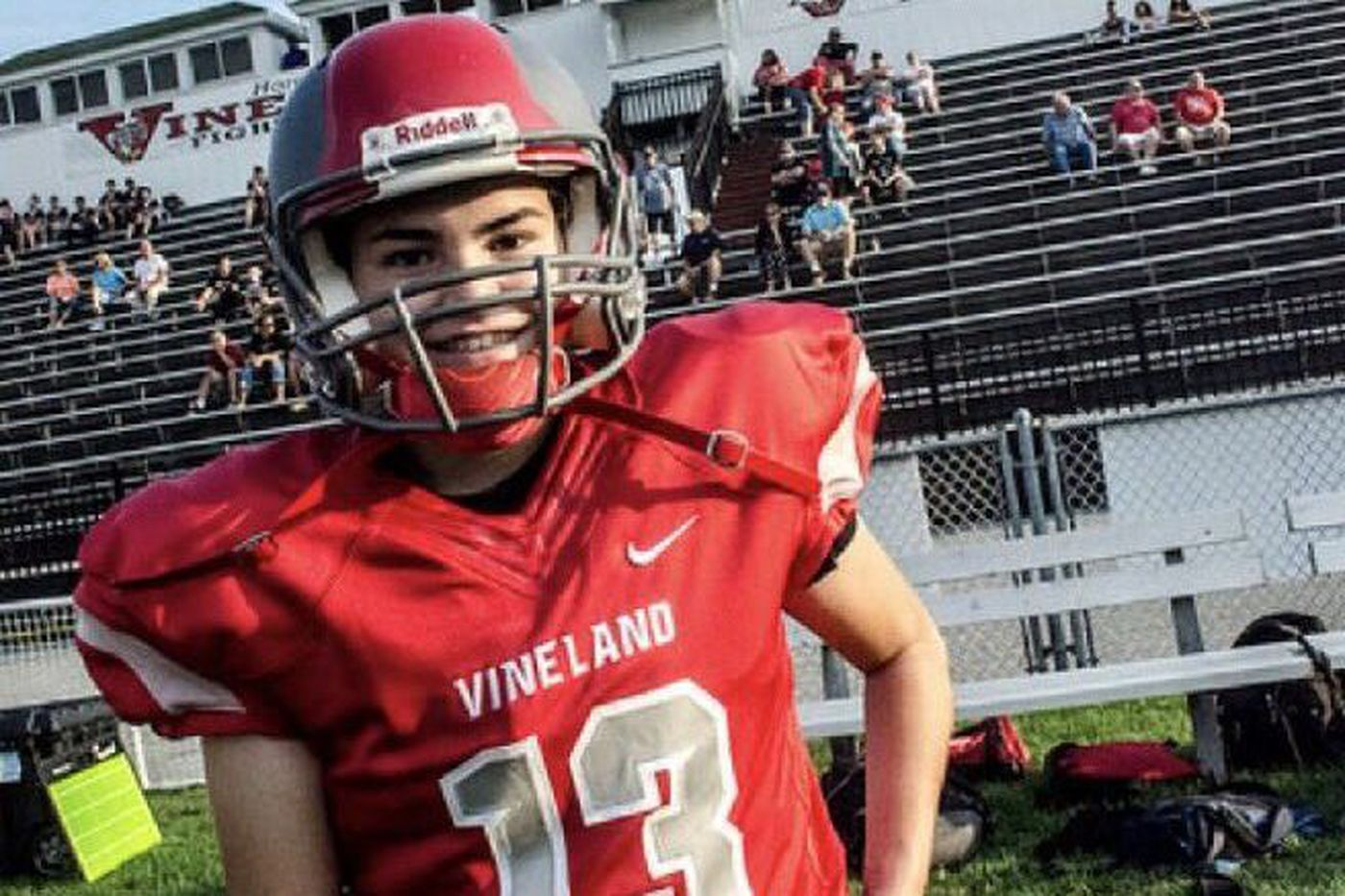 Vineland's Carli Kling becomes first girl to score in school history