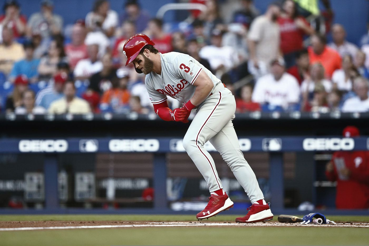 Phillies get thumped by last-place Marlins as Zach Eflin gives up three home runs in one inning