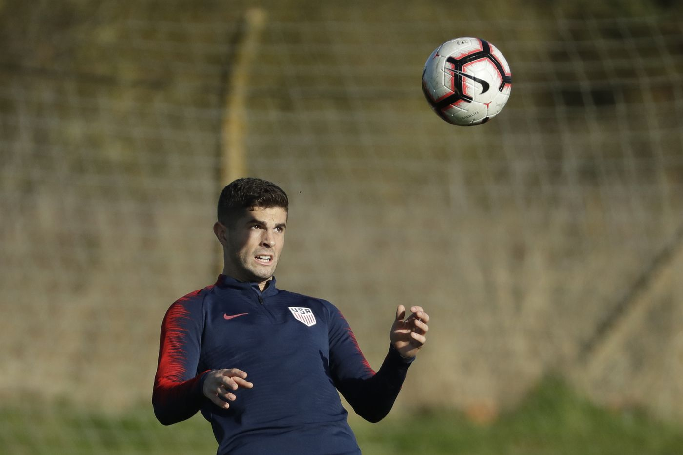 Hershey's Pulisic assumes leadership role on return to U.S. men's soccer team