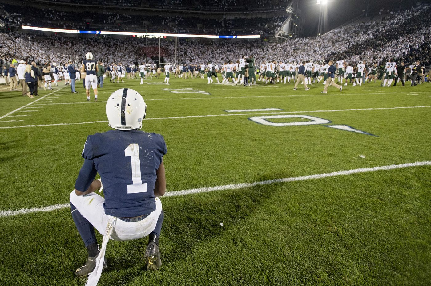 Players vow to work harder to reverse Penn State slide