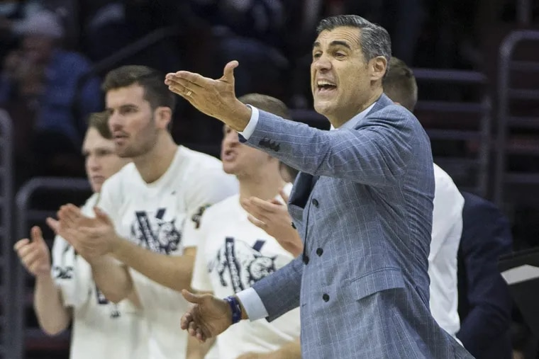 Villanova Wildcats head coach Jay Wright hasn't got too much to complain about at the moment, as his team is 10-0 and is now ranked No. 1 in the nation in the AP Top 25 poll.