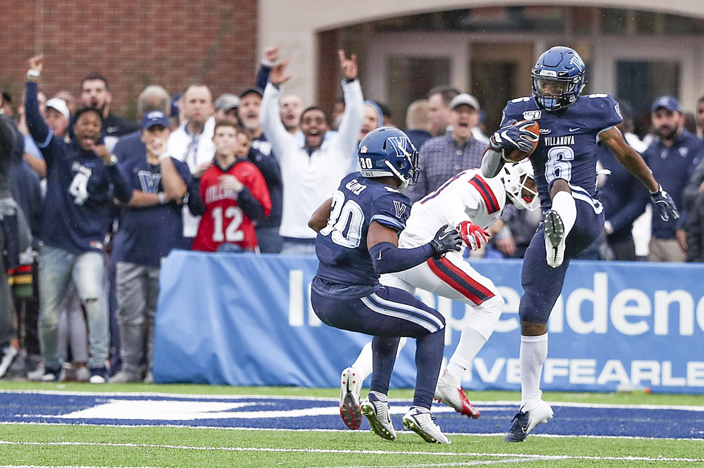 Villanova defensive back Jaquan Amos' versatility causes headaches for opposing QBs