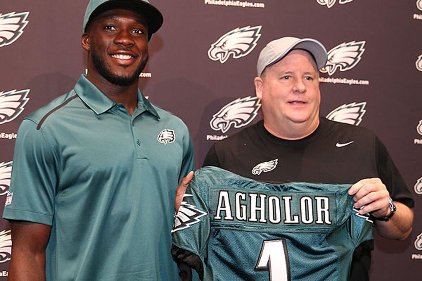 Eagles sign top pick Agholor