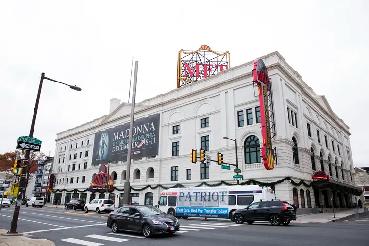 The exterior of The Met Philadelphia. This month, the venue celebrated its first anniversary since renovation.