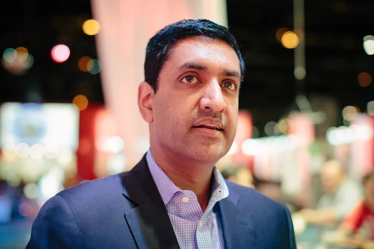 """Rep. Rohit """"Ro"""" Khanna, D-Calif. — who grew up in Bucks County —  was lead House sponsor of the recent bill to end U.S. support for the war in Yemen."""