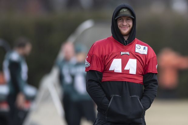 Doug Pederson says Eagles' Carson Wentz has 'stress injury;' source says Wentz had another in college