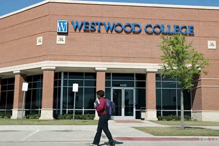 Westwood College in Fort Worth, Texas, and two other Texas campuses must pay $7 million to resolve False Claims Act allegations. (Joyce Marshall / Fort Worth Star-Telegram / MCT)