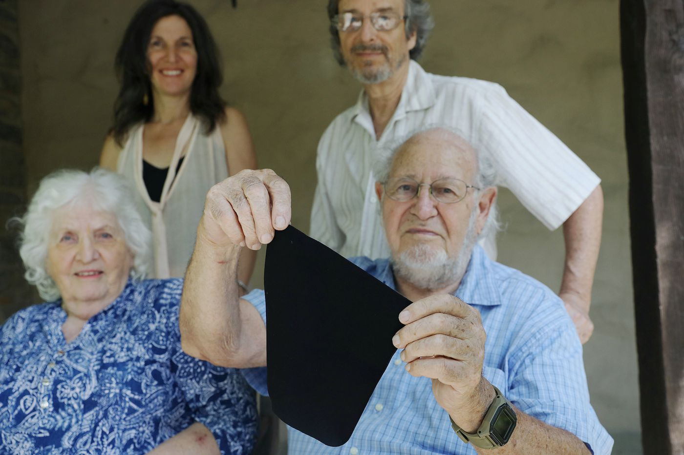 A Chestnut Hill family is producing a sanitizing wipe that lasts 30 days and can be used 600 times