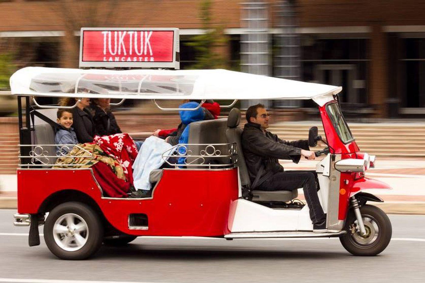 PUC rethinks license denial for Tuktuk sightseeing vehicle