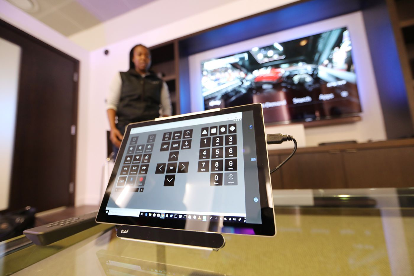 Comcast will now let people with disabilities control their TVs with their eyes