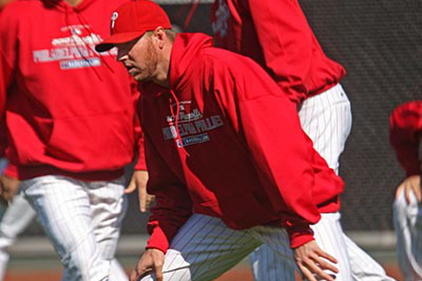 Inside the Phillies: On day after, Doc sticks to routine