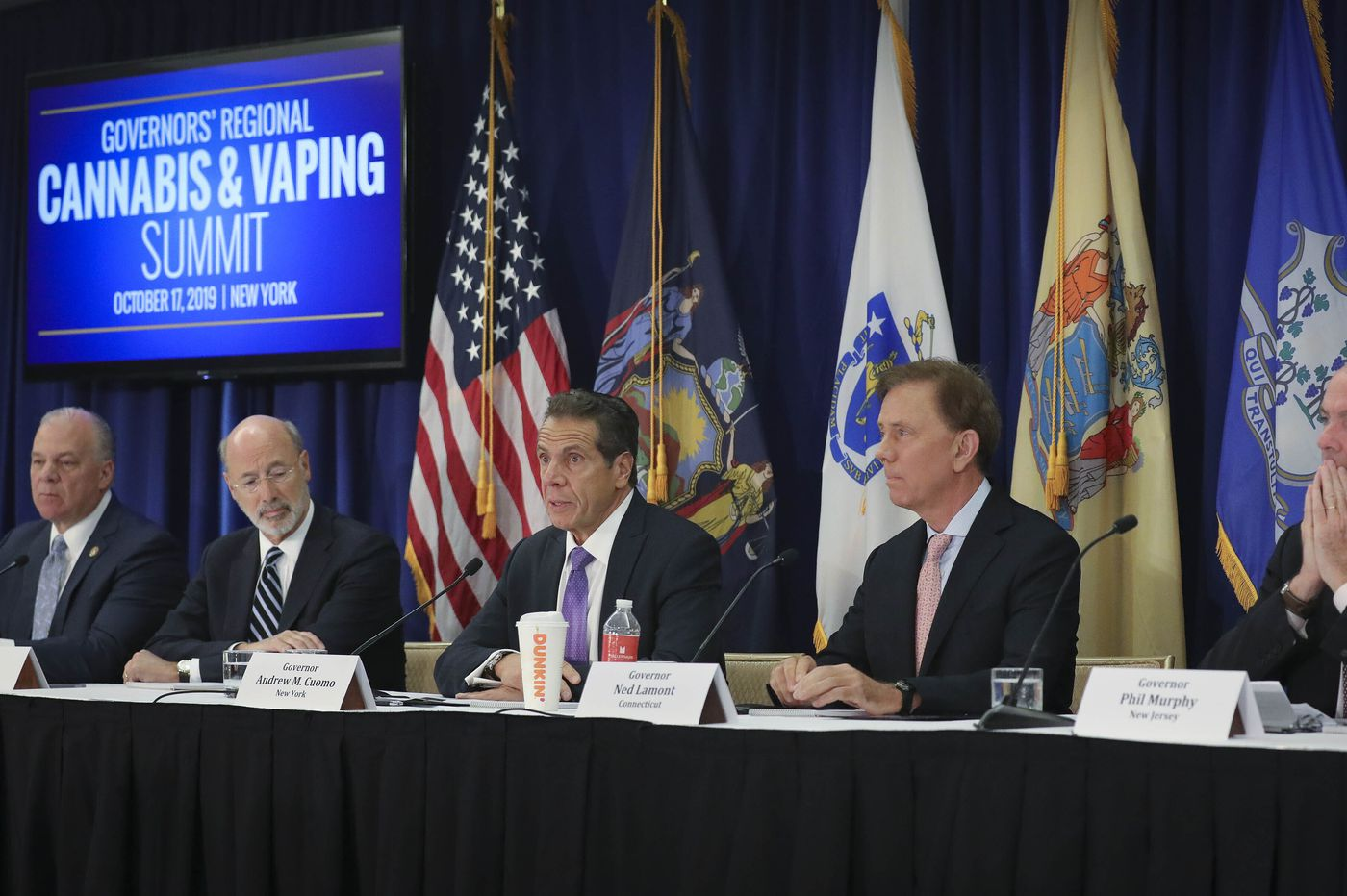 Key Northeastern governors join forces to chart a path to legalizing marijuana