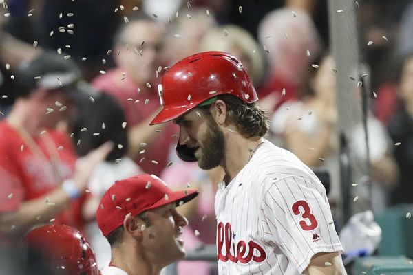 Bryce Harper gave Phillies everything they expected and more in his first season | Bob Brookover