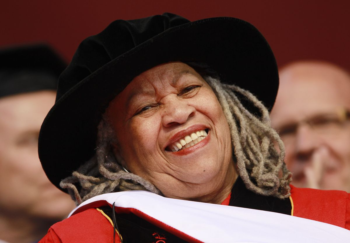 Toni Morrison, renowned writer, Nobel laureate and Princeton