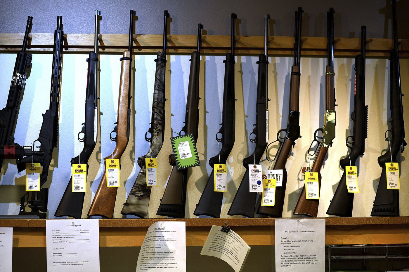Philly-area gun shops say COVID-19, protests, presidential election driving widespread shortages