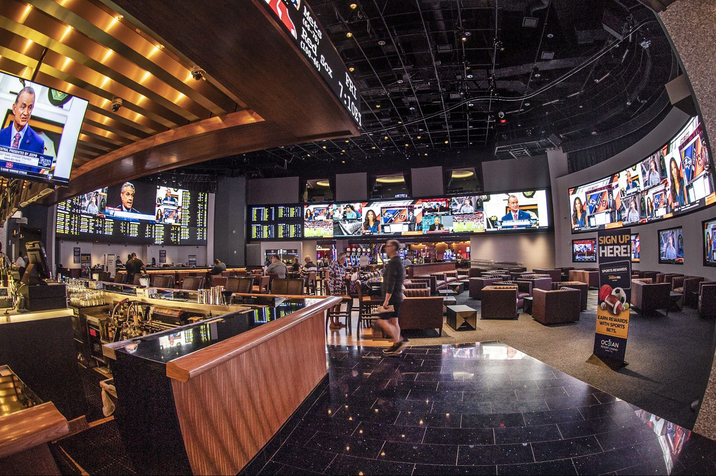 Philly area casinos may be taking millions out of New Jersey's sports-betting market