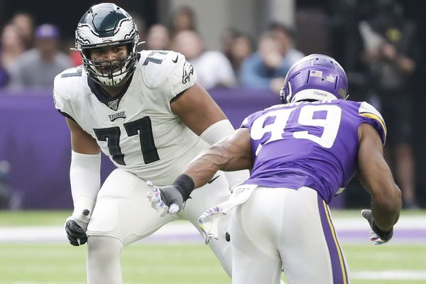 With Jason Peters 'week to week,' the future starts now for the Eagles and rookie Andre Dillard