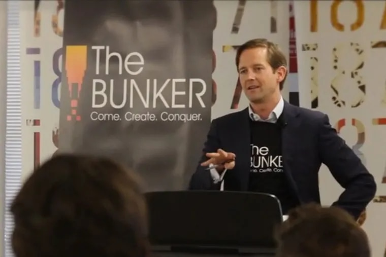 Todd Connor, CEO of the Bunker, talks about the mission of the company in a screen grab from a video on the Bunker's website.