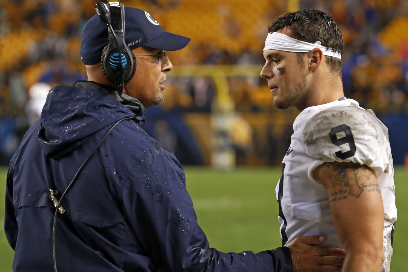 Penn State football coach James Franklin knows how to play the villain | Mike Jensen