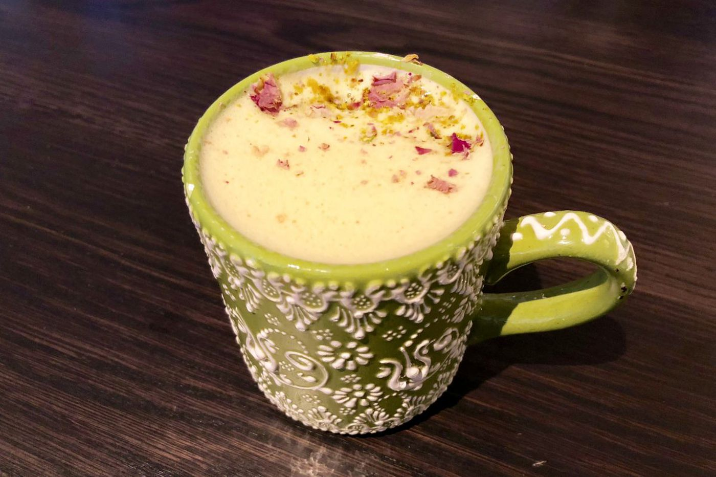 Orchid latte? Flower powers Middle Eastern drinks and desserts