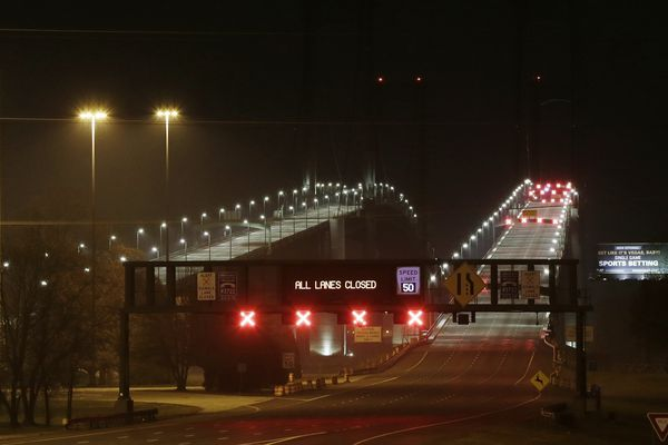 2,700 pounds of explosive material leaked in Nov. 25 accident that shut Delaware Memorial Bridge