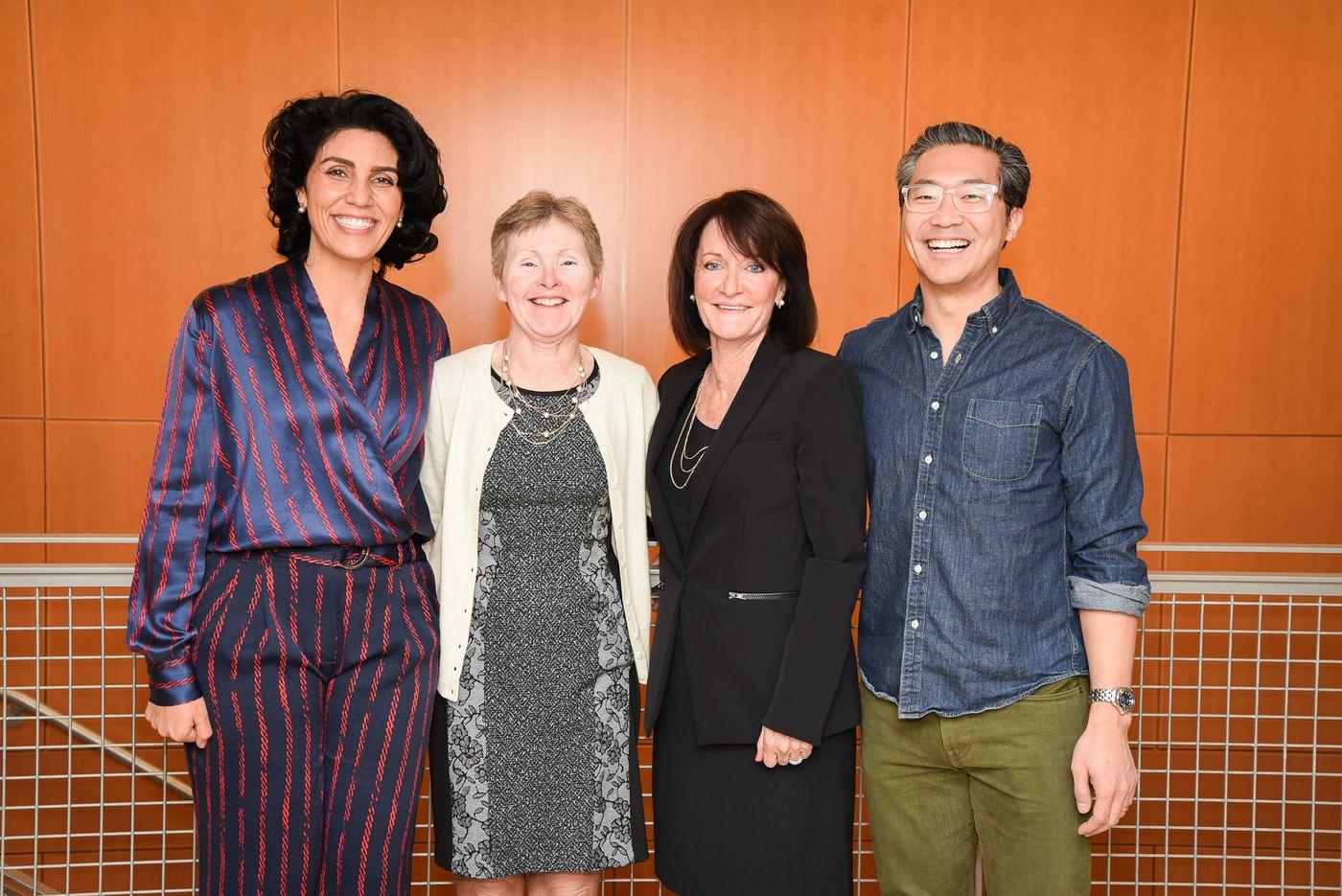 97e7c430d Grace Humanitarian Award recipient, Georgia Sarquella-Brugada, MD (left) is  pictured