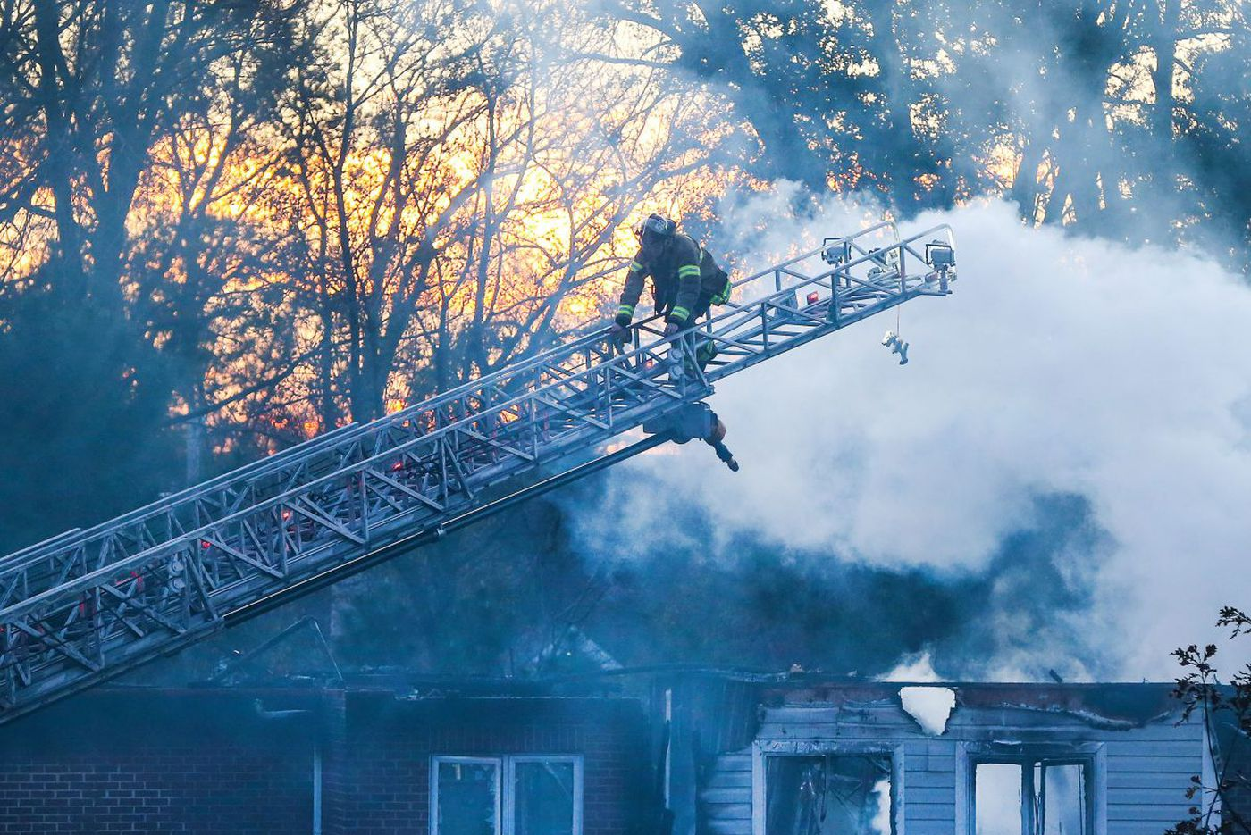 What we still don't know about the fire at Barclay Friends
