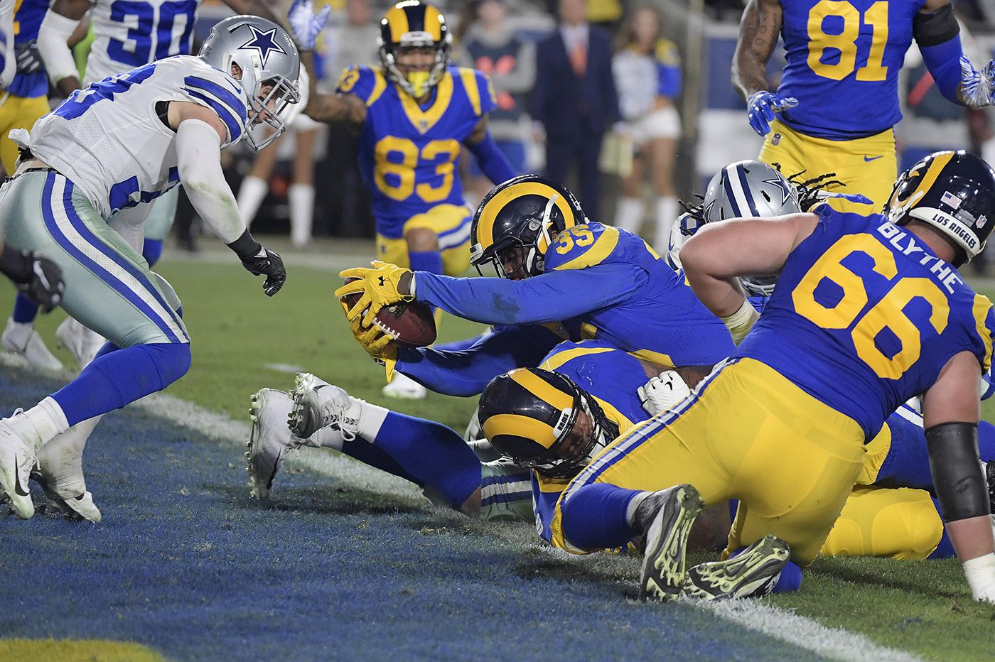 Rams beat Cowboys, may host Eagles for NFC championship in Los Angeles next Sunday