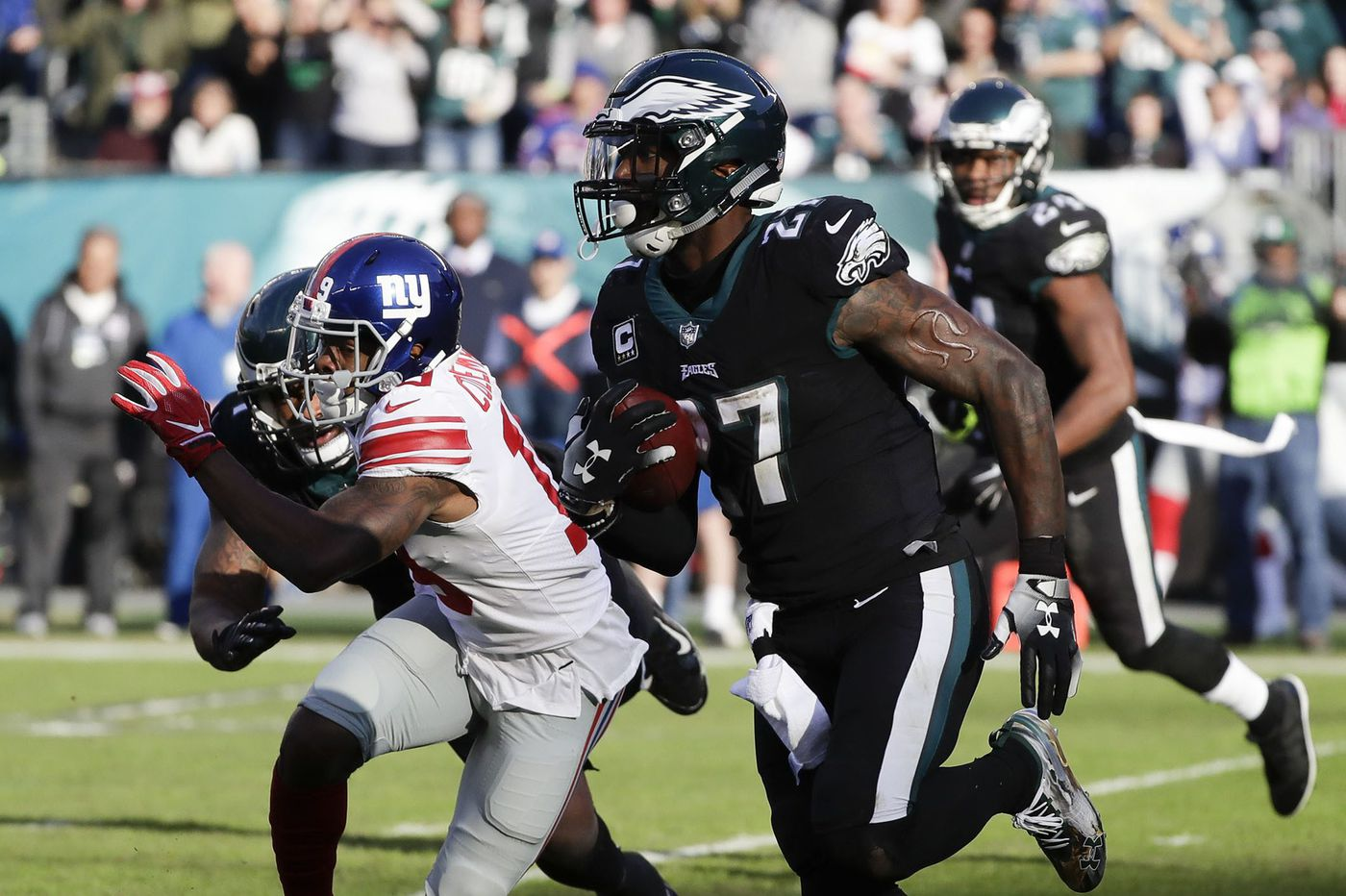 With interception, Malcolm Jenkins backs up his words to lead the Eagles in win over Giants | Bob Ford