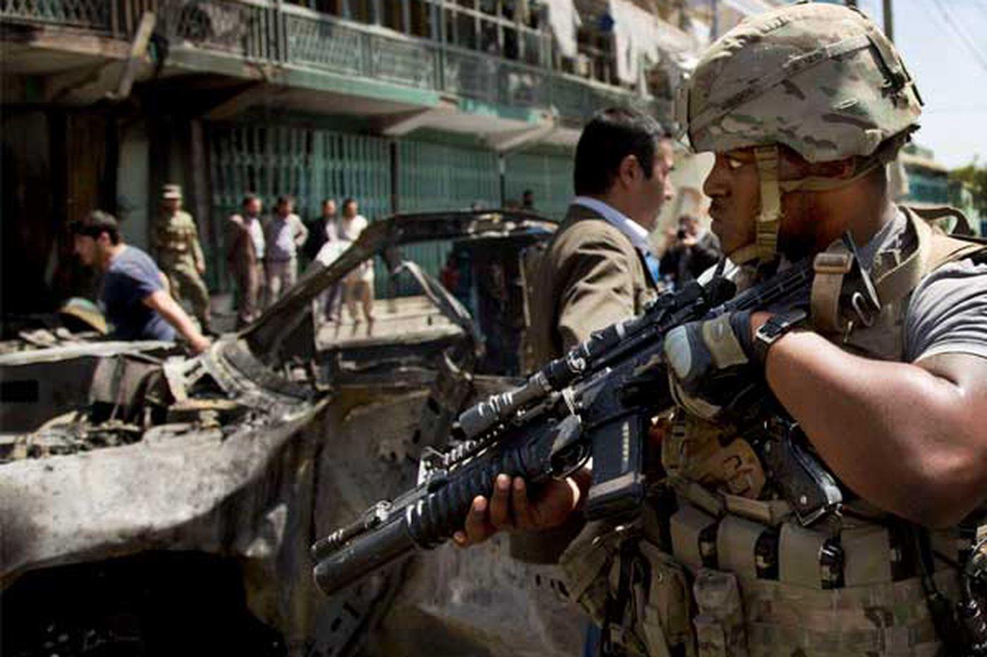 Convoy bombing kills 15 in Kabul