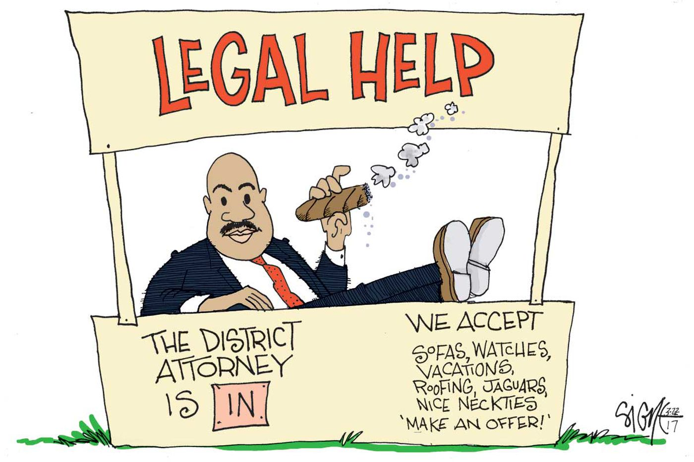 Inquirer Editorial: Seth Williams no longer a lawman; he should step down