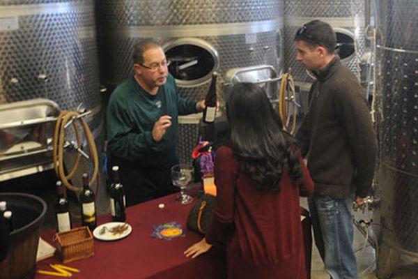 Jason Wilson hits South Jersey wine trail