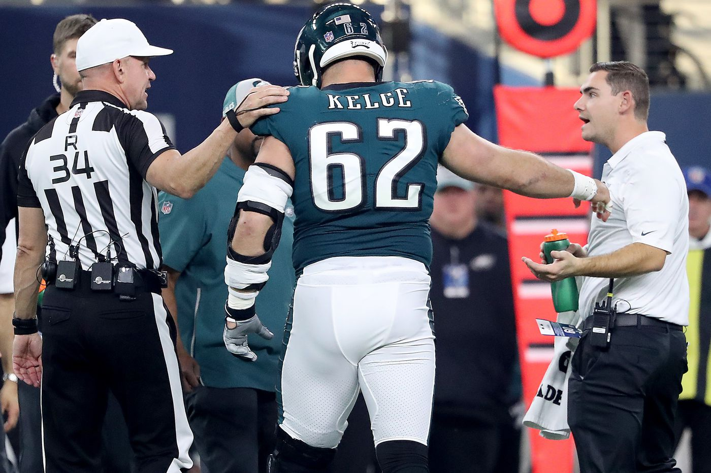 new concept 71190 6065b As Eagles' Jason Kelce considers retirement, he faces a hard ...